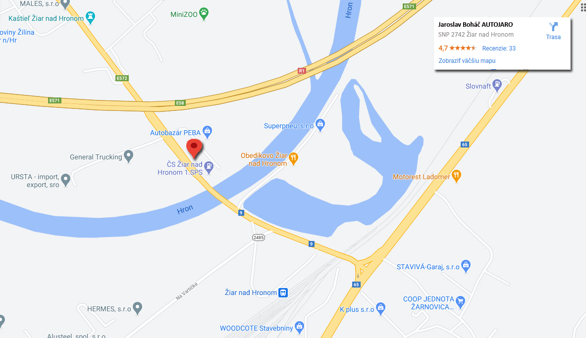 autojaro.sk kde nas najdete mapa